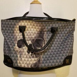 Loungfly Skull Geo Print Oversized Bag